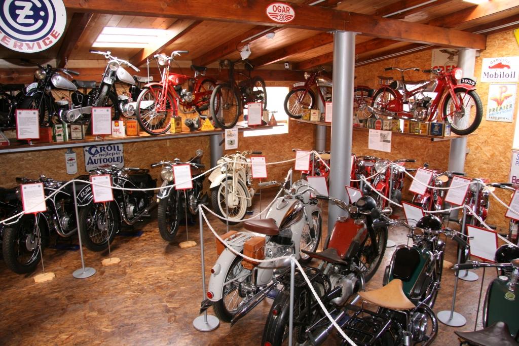 Muzeum motocyklů Pavlíkov